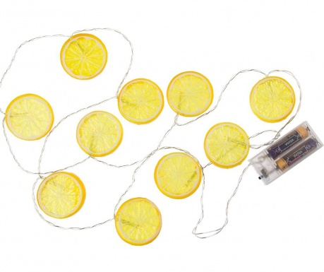 Svetlobna girlanda Lemon Slices