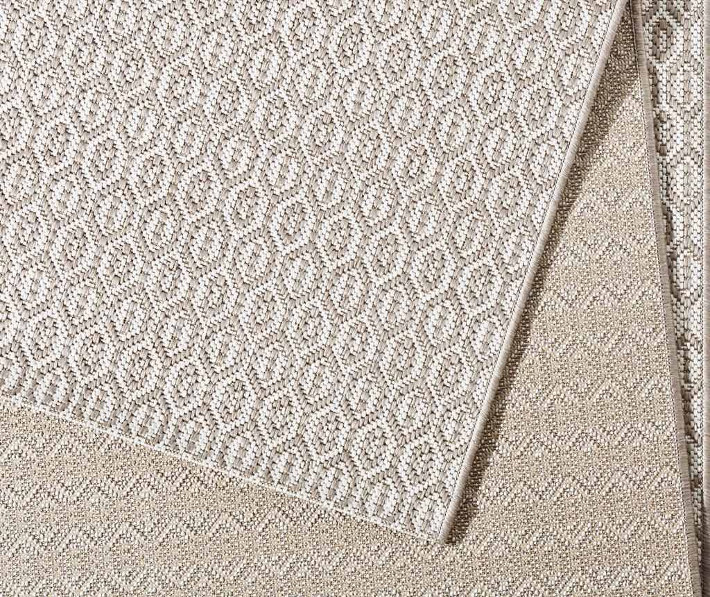 Meadow Coin Grey Kültéri szőnyeg 80x150 cm