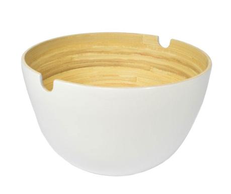 Купа за салата Bamboo Life White 1.5 L