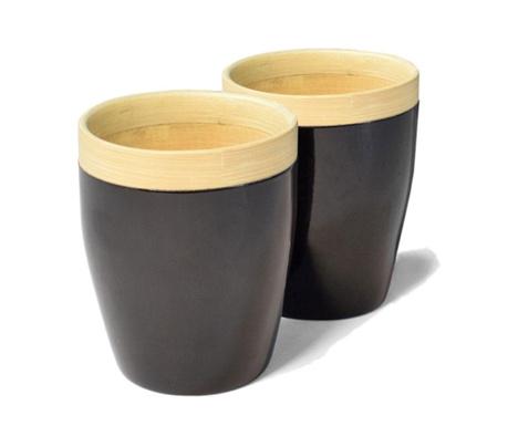 Комплект 2 чаши Bamboo Life Black