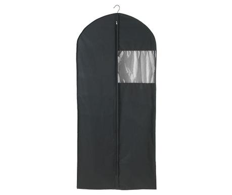 Obal na oblečení Deep Black 60x135 cm