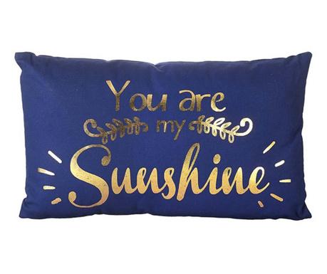 Dekorační polštář You are My Sunshine 30x50 cm