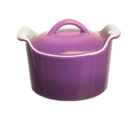 Mininova Lizzy Purple Sütőedény fedővel 200 ml