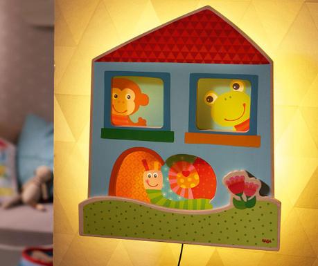 Lampa de veghe Cheerful Chums House