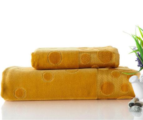 Zestaw 2 ręczników kąpielowych Tropical Mustard