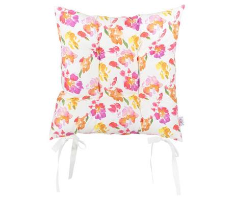 Jastuk za sjedalo Red Flowers 37x37 cm