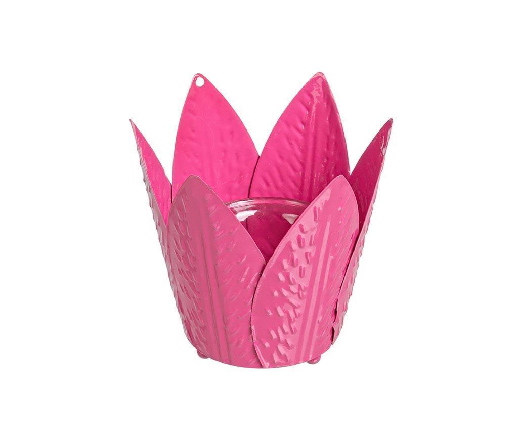 Tulip Pink Gyertyatartó