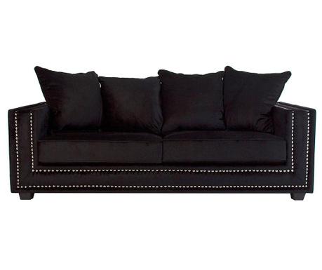 Kauč trosjed Chester Black
