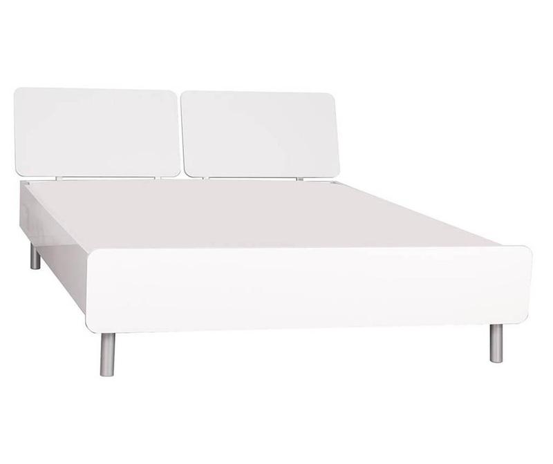 Cadru de pat Lazio White 140x190 cm