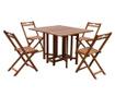 Monterey Összecsukható kültéri asztal és 4 db szék