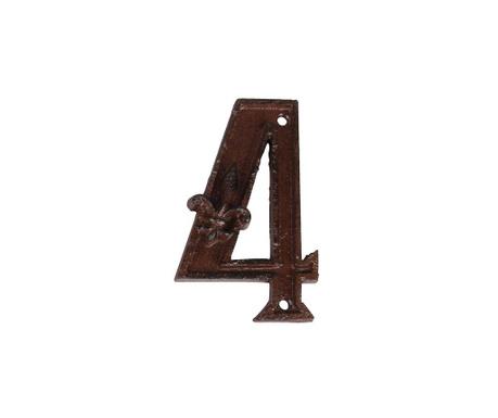Hišna številka Four