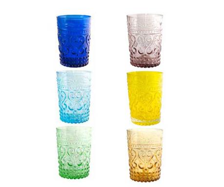 Zestaw 6 szklanek Fiesole 260 ml