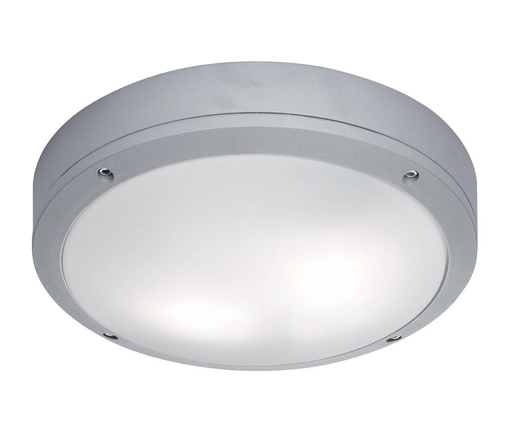 Zunanja stropna svetilka Leros Round Grey