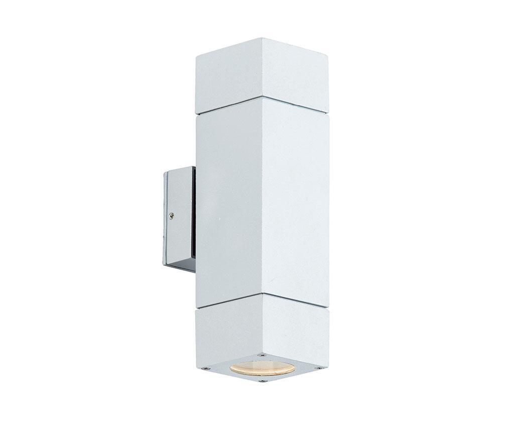 Aplica de perete pentru exterior Paros White Tall