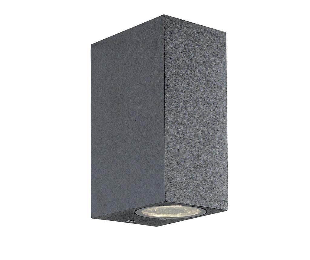 Aplica de perete pentru exterior Tilos Tall Dark Grey