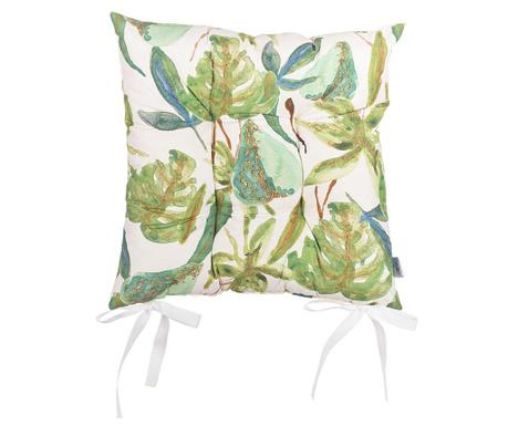 Jastuk za sjedalo Tropical Leafs 37x37 cm