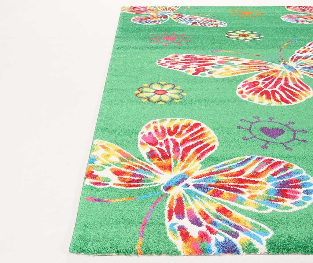 Farfalle Green Szőnyeg 100x150 cm