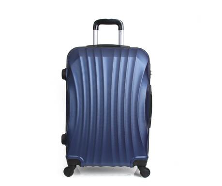Moscou Blue  Gurulós  bőrönd