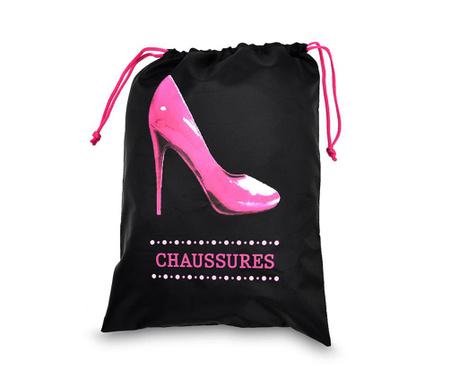 Saculet pentru pantofi Lady Pink