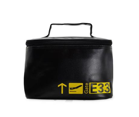 Gate Black and Yellow Kozmetikai táska