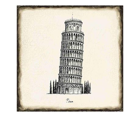 Pisa Kép 33x33 cm