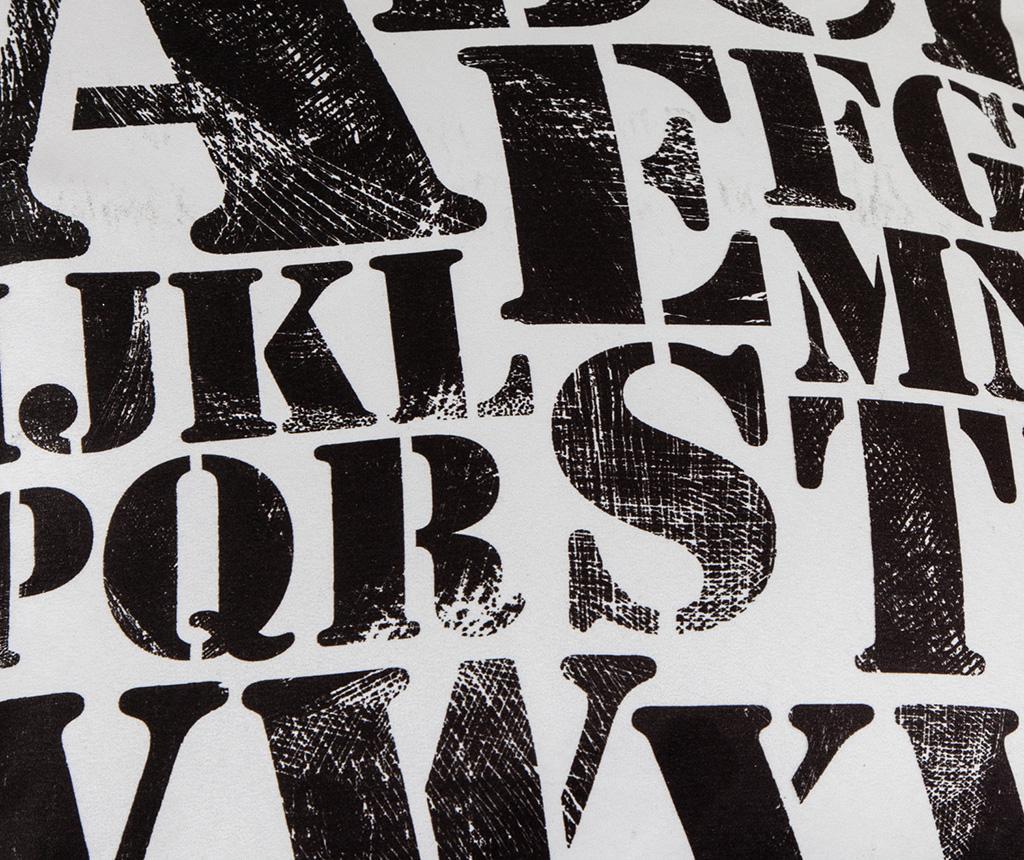 Ukrasni jastuk Letters Pattern 45x45 cm