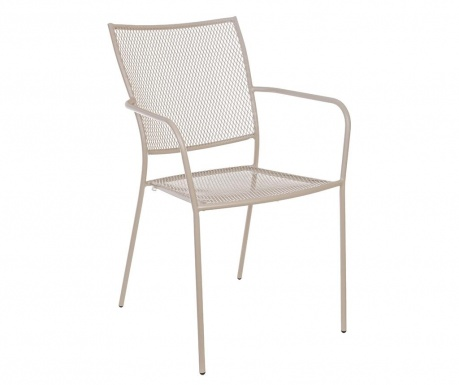 Exteriérová stolička Kristen Taupe
