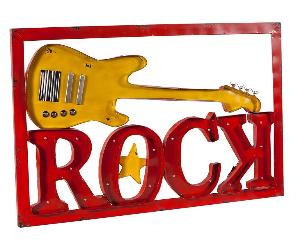 Svetlobna stenska dekoracija Rock