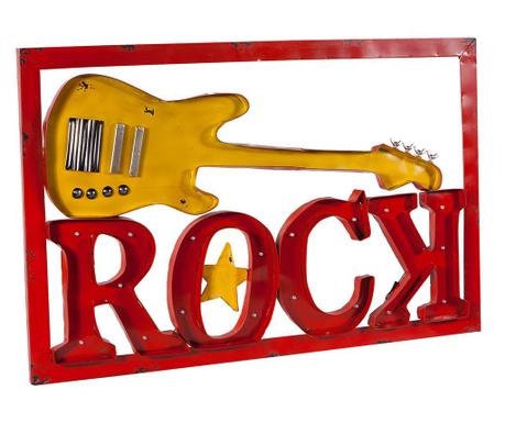 Świetlna dekoracja ścienna Rock