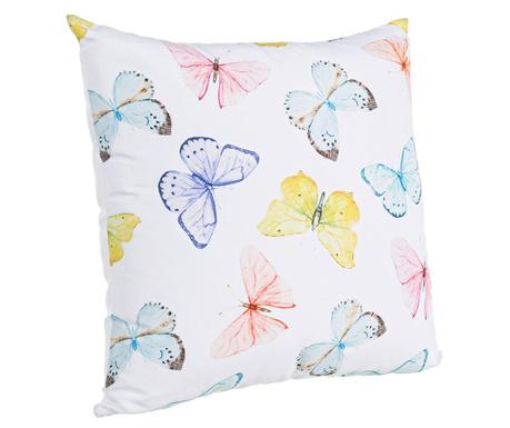 Dekoračný vankúš Butterflies Multicolor 45x45 cm