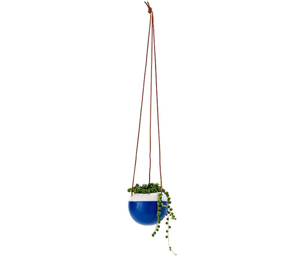 Doniczka wisząca Willow Blue M
