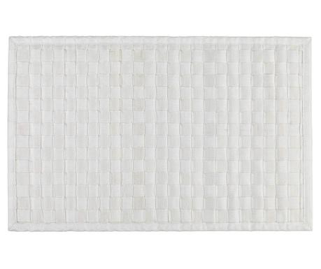 Kopalniška preproga Adria White 50x80 cm