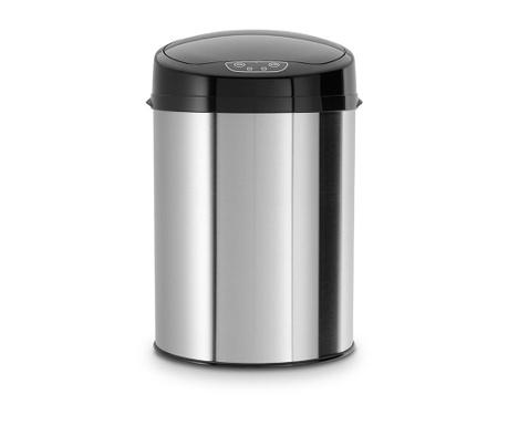 Edel Silver Black Szemetes kosár mozgásérzékelővel 9 L
