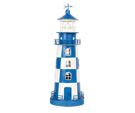 Lighthouse White and Blue Dekoráció