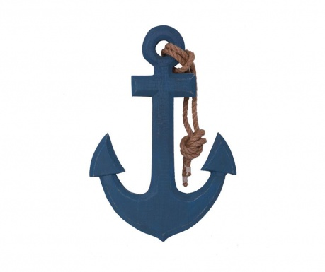 Anchor Navy Dekoráció