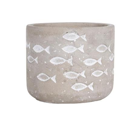 White Fish Virágcserép