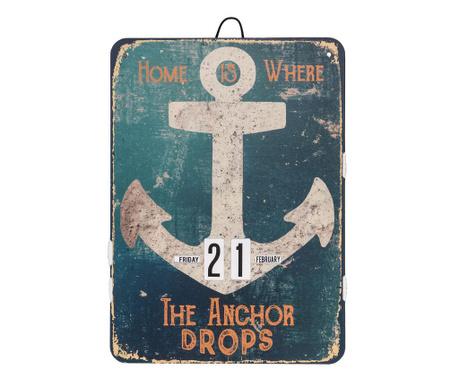 Where the Anchor Drops Naptár