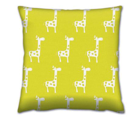 Giraffes Lime Díszpárna 43x43 cm
