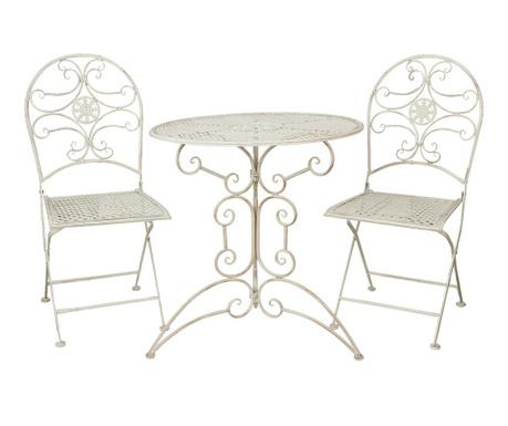 Serena Kültéri asztal és 2 db szék