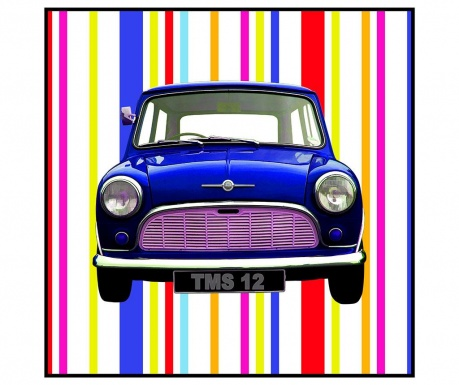 Mini Blue Kép 70x70 cm