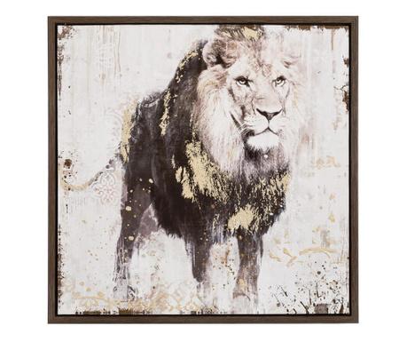 Картина Lion 64x64 см
