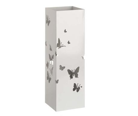 Stojalo za dežnike Butterfly White