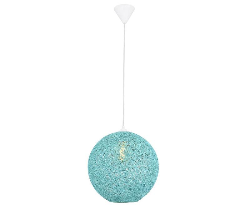 Závěsná lampa Gisela Turquoise