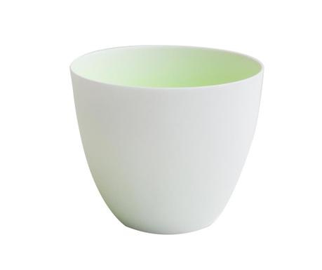 Set 6 suporturi pentru lumanari Neon White Green
