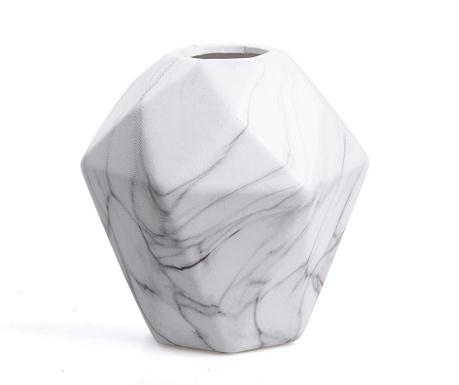 Vaza Hexagon White