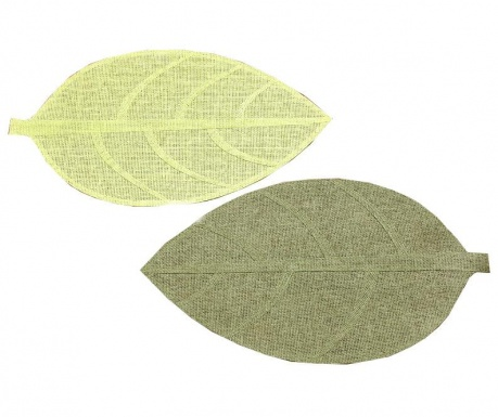 Zestaw 2 podkładek stołowych Leaf 33x44 cm