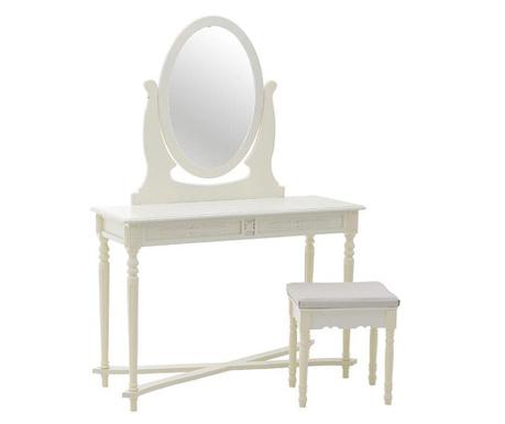 Zestaw toaletka i stołek Martha