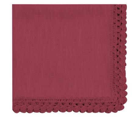 Салфетка за маса Crochet Bordeaux 40x40 см