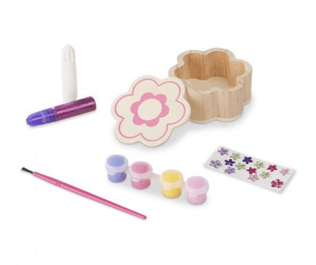23-dijelni kreativni set kutija s poklopcem Flower