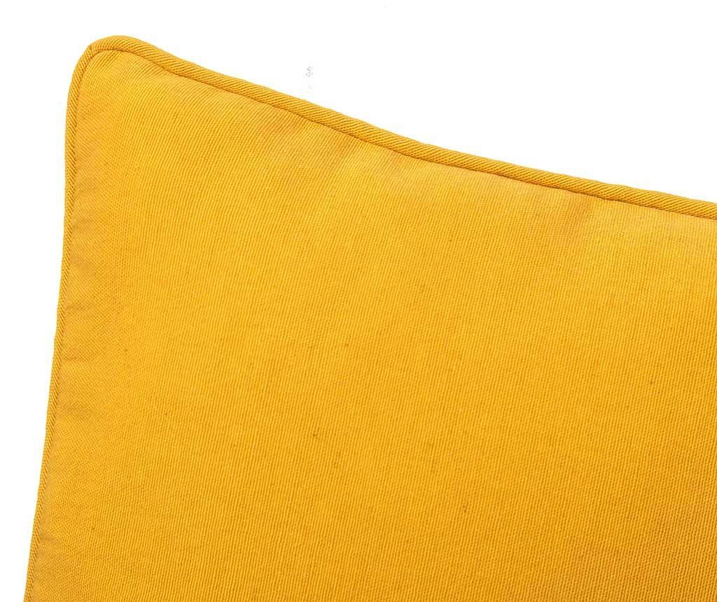 Perna decorativa Loving Colours Yellow 30x50 cm